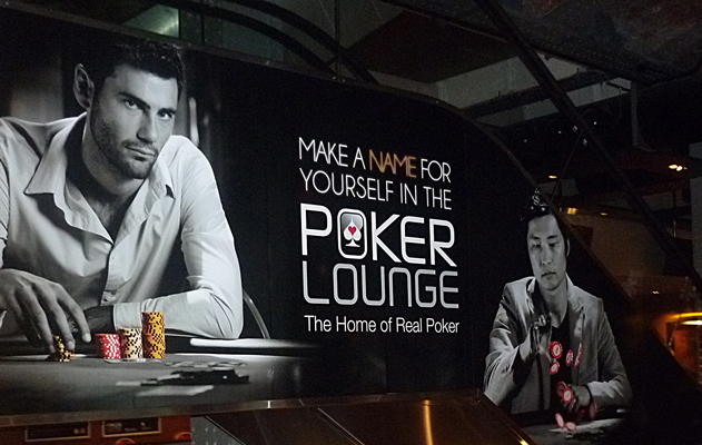 Does new york new york have a poker room